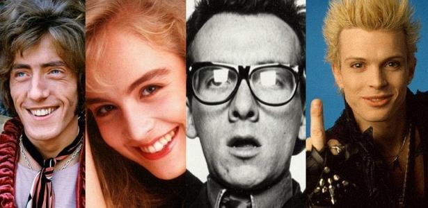 """Roger Daltrey, Angélica, Elvis Costello e Billy Idol, que já cantaram sobre o """"autoprazer"""""""