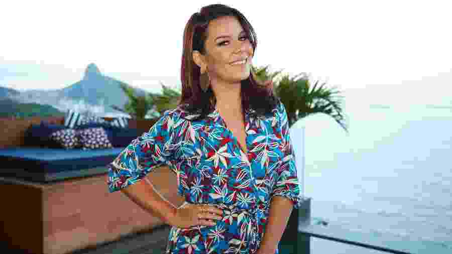 Fernanda Souza está longe das novelas e virou apresentadora do Multishow - Juliana Coutinho/Divulgação