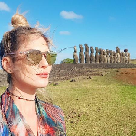 Lívia Andrade de férias na Ilha de Páscoa - Reprodução/Instagram/liviaandradereal