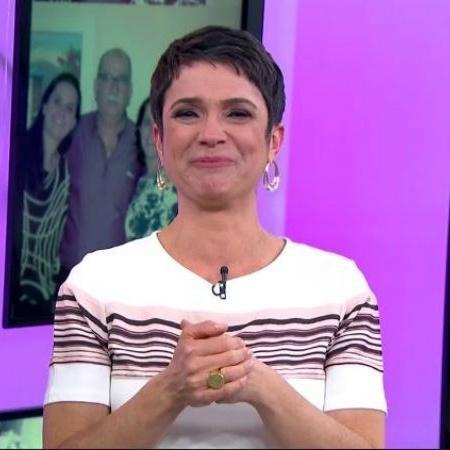 Sandra Annenberg se emociona ao homenagear pai em programa - Reprodução/TV Globo