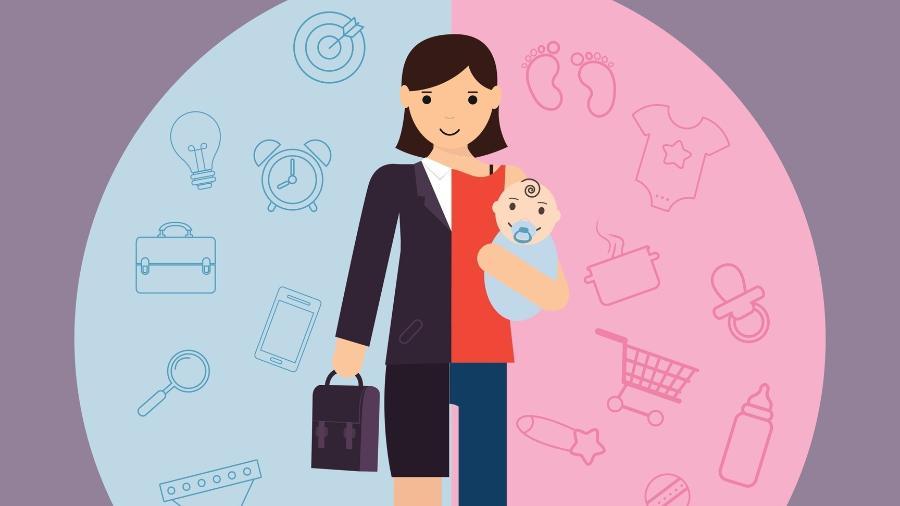 Quantos homens têm de responder nas entrevistas de emprego com quem ficam seus filhos? As mães, todas - Getty Images