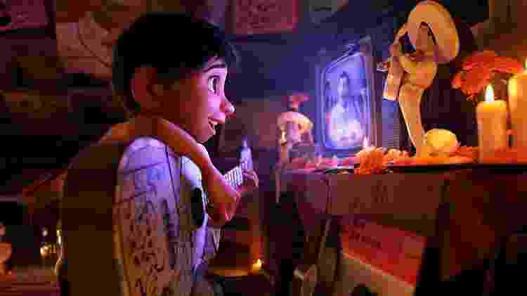 """Cena do filme """"Viva: A Vida é uma Festa"""" - Reprodução - Reprodução"""