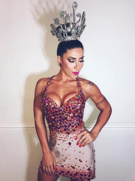 Tati Minerato é rainha de bateria da Gaviões da Fiel - Instagram/Reprodução