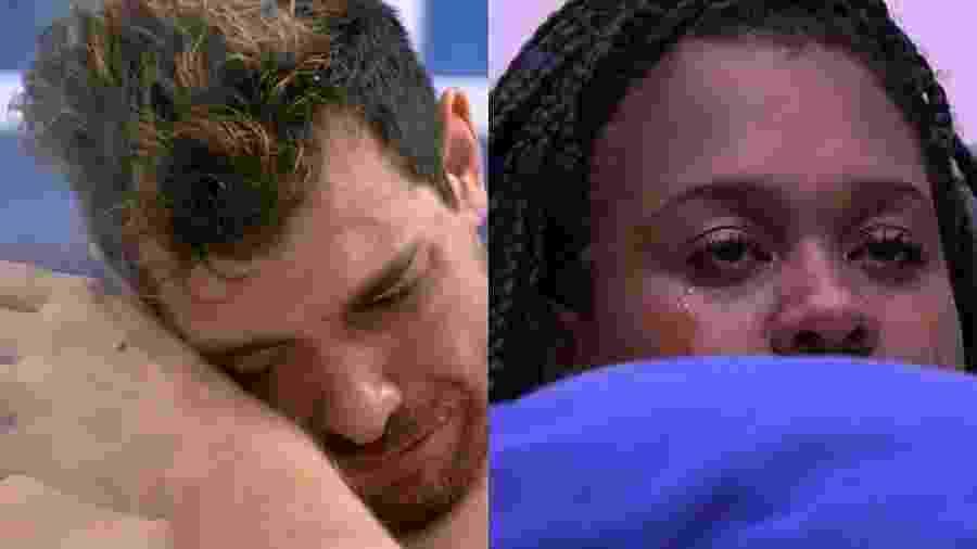 Brothers já choraram muito por conta de comida no BBB - Reprodução/TV Globo/Montagem UOL