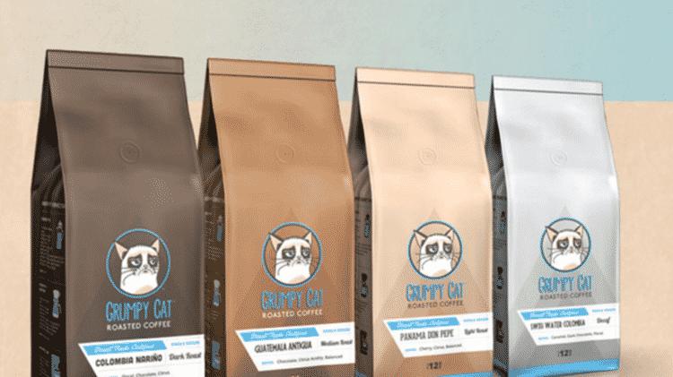 Empresa usou sem autorização a marca Grumpy Cat ao lançar café torrado - Reprodução - Reprodução