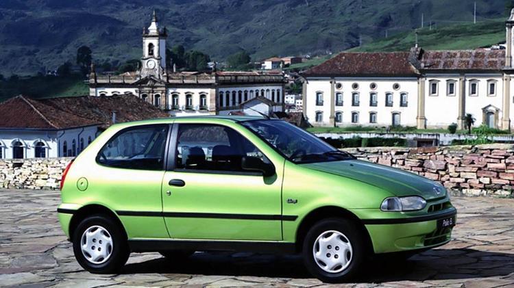 Fiat Palio 1996 - Divulgação - Divulgação