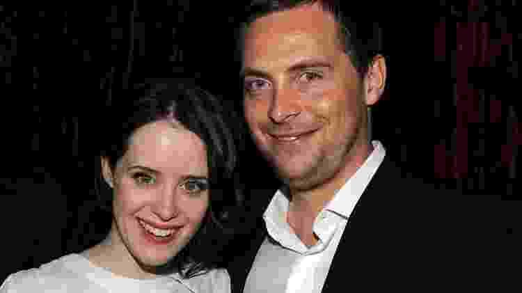 Claire Foy e o ex-marido, Stephen Campbell, durante evento em Nova York em 2011 - Getty Images - Getty Images