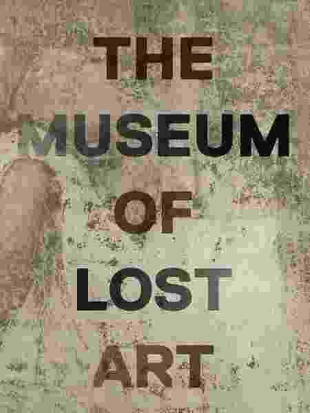"""Capa do livro """"The Museum of Lost Art"""" - Reprodução - Reprodução"""