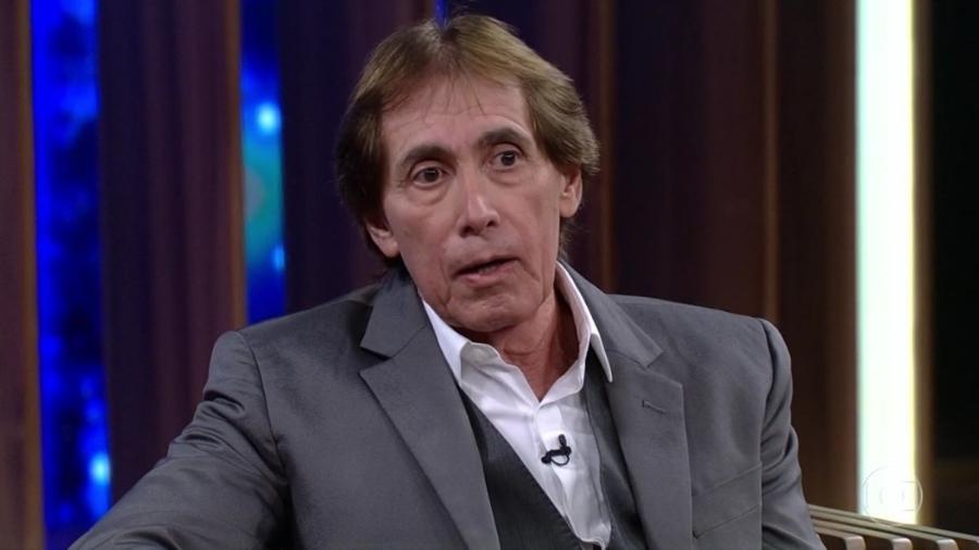 """Odair José no """"Conversa com Bial"""" - Reprodução/Globoplay"""