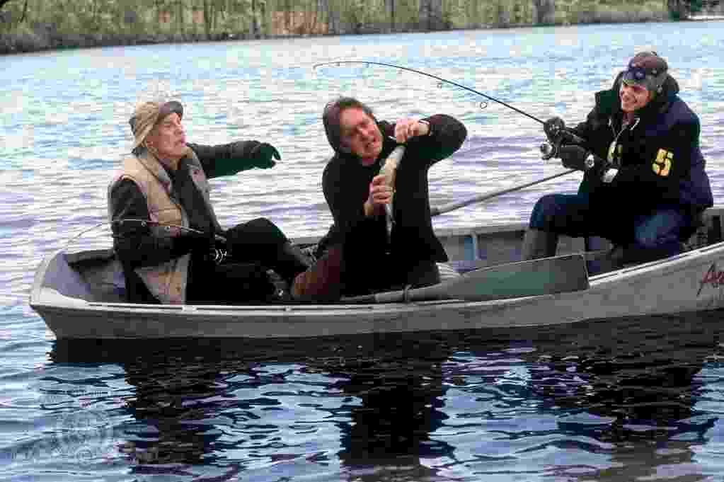 """Kirk Douglas, Michael Douglas e Cameron Douglas em """"Acontece nas Melhores Famílias"""" (2003) - Divulgação"""