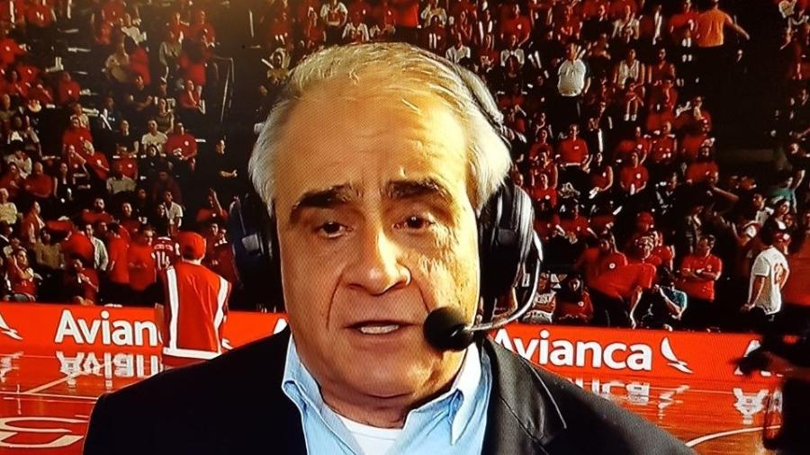 Oliveira Andrade é o narrador titular da Band - Divulgação/Band