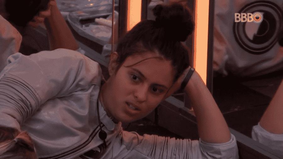 Hana critica Gustavo - Reprodução/GloboPlay
