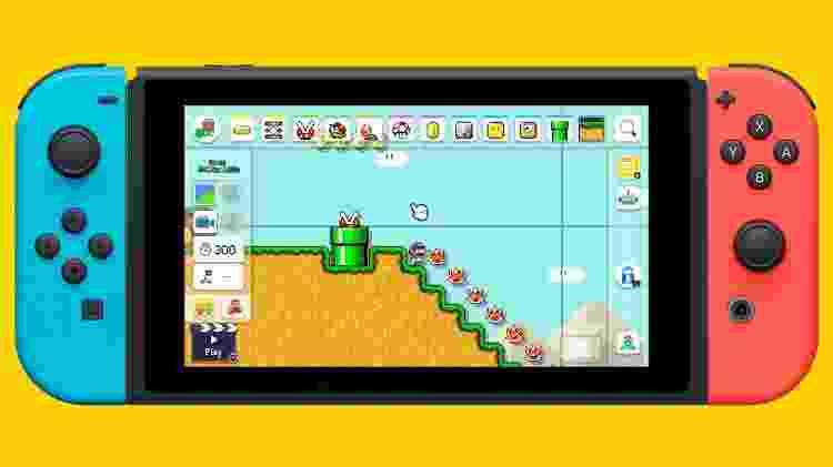 Super Mario Maker 2 - Switch - Divulgação - Divulgação