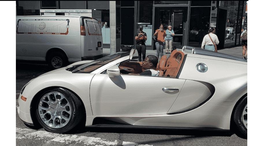 Tracy Morgan e seu carro avaliado em US$ 2 milhões - Reprodução