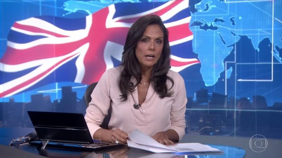 Cristina Ranzolin no Jornal Nacional - Reprodução/Globo