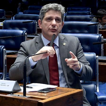 O líder do PT no Senado, Rogério Carvalho (SE) - Waldemir Barreto/Agência Senado