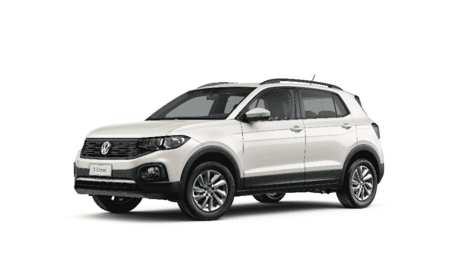 T-Cross Sense, versão PCD do carro da VW, foi responsável por garantir a liderança - Divulgação