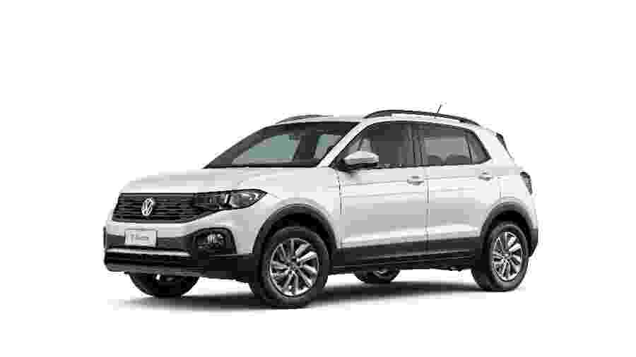 Versão Sense do T-Cross, criada para clientes PCD, foi responsável por mais da metade das vendas do SUV compacto em junho - Divulgação