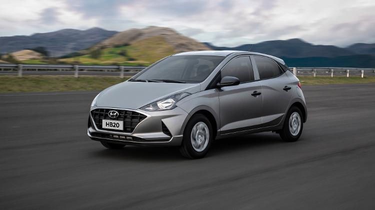Hyundai HB20 Sense 1.0 2020 - Divulgação - Divulgação