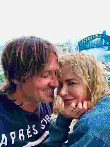 Nicole Kidman e o marido Keith Urban - REPRODUÇÃO/INSTAGRAM