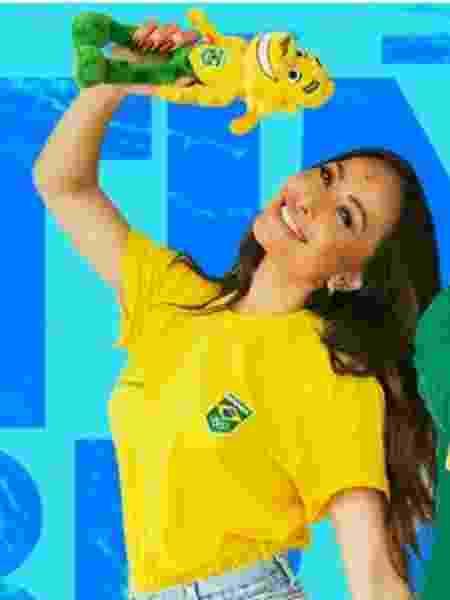 Sabrina Sato será madrinha do Time Brasil em Tóquio - Divulgação