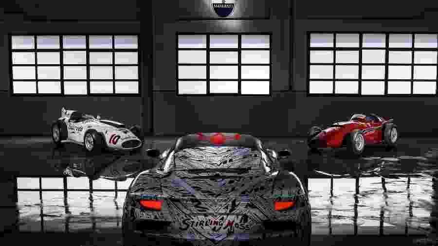 Protótipo Maserati MC20 - Divulgação