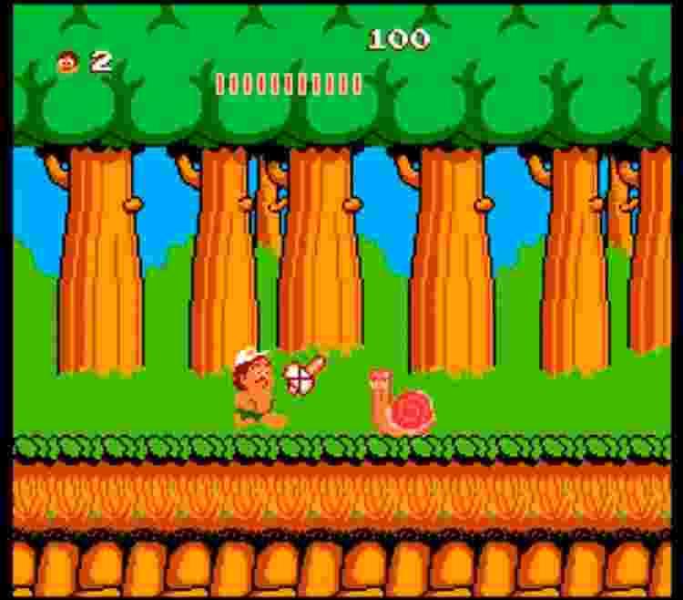 Adventure Island (NES) - Reprodução - Reprodução