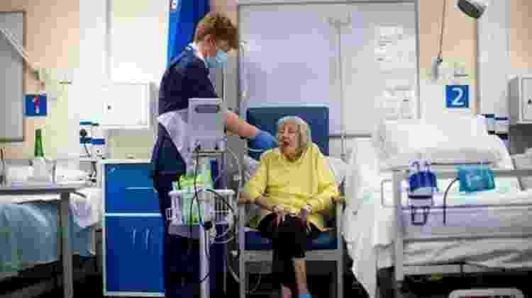 Quase metade dos pacientes do grupo 6 de sintomas foi parar no hospital - GETTY IMAGES - GETTY IMAGES