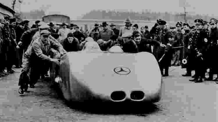 Mercedes-Benz W 125 record car 1938 - Divulgação - Divulgação