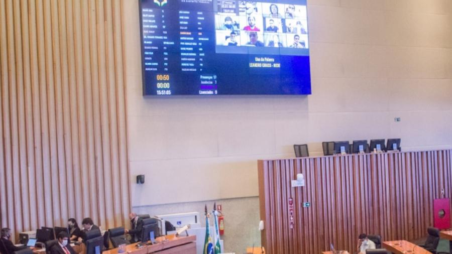 A Câmara Legislativa aprovou a redução de 3% na alíquota do ICMS para combustíveis - CLDF/Divulgação