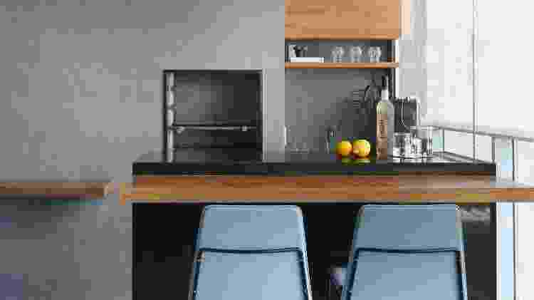 Churrasqueira no apartamento - altura - Reprodução/Pinterest - Reprodução/Pinterest