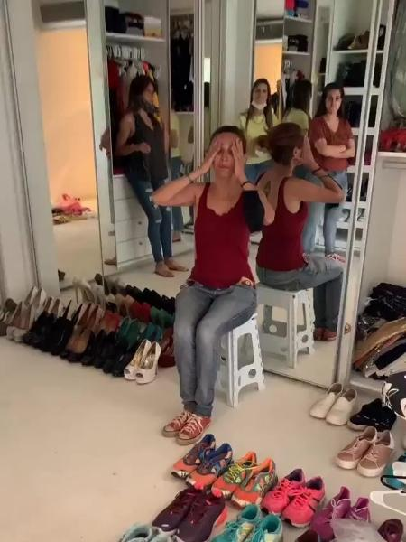 Mayra Cardi exibiu novo closet nas redes sociais - Reprodução/Instagram @mayracardi