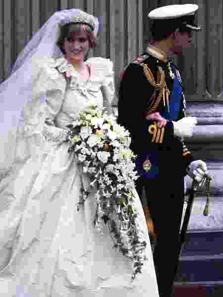 Casamento de Charles e Diana em 1981 - Getty Images - Getty Images