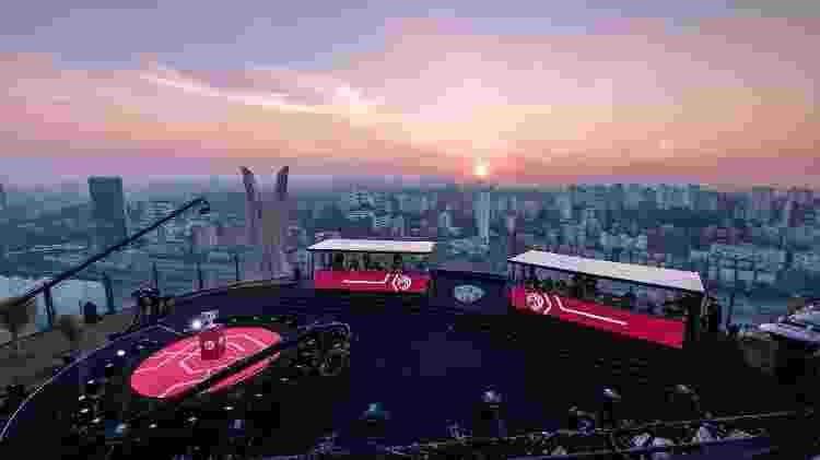 Topo do prédio em SP na final do CBLoL - Bruno Alvares/Riot Games - Bruno Alvares/Riot Games