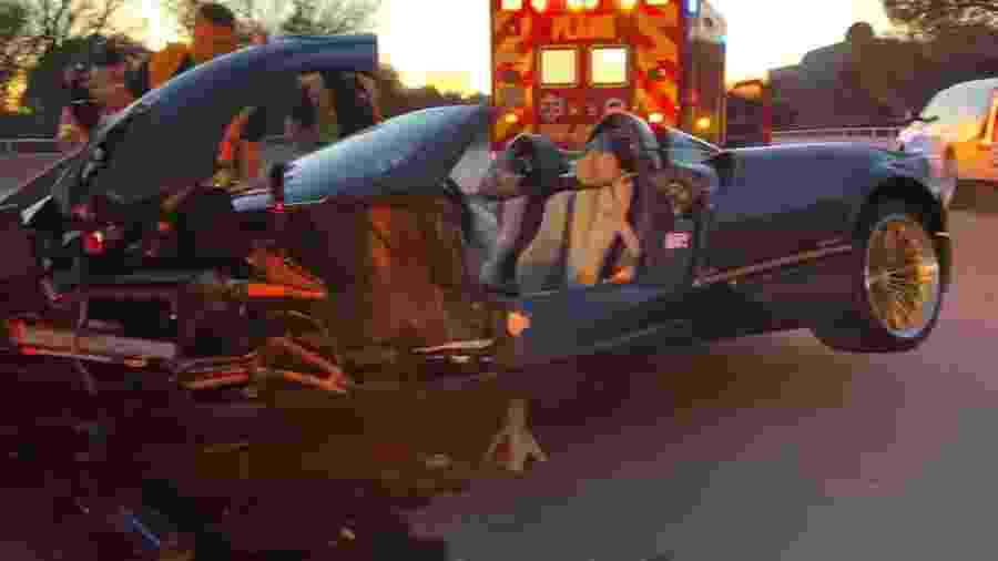 Pagani Huayra Roadster bate em Dallas - Reprodução