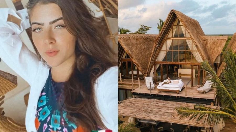 Jade Picon se hospeda em hotel no México com diárias de até R$ 8 mil reais - Reprodução/ Divulgação/ Instagram @jadepicon @lavalisetulum