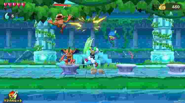 Asha in Monster World - Reprodução/ININ Games - Reprodução/ININ Games
