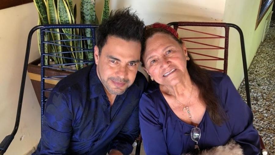 Zezé Di Camargo atualiza estado de saúde da mãe após cirurgia - Instagram