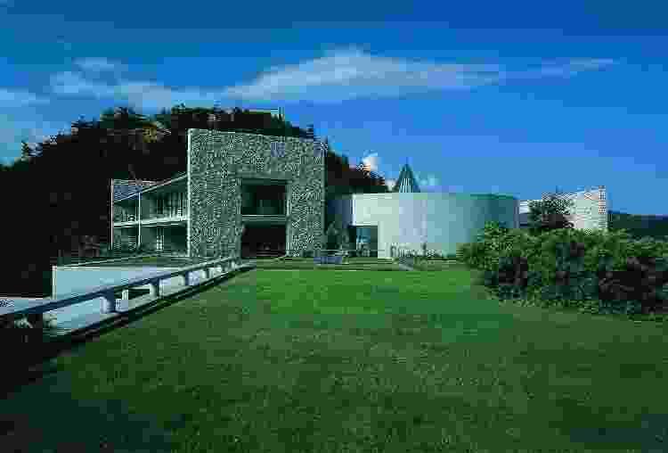 Benesse House, em Naoshima - Divulgação - Divulgação