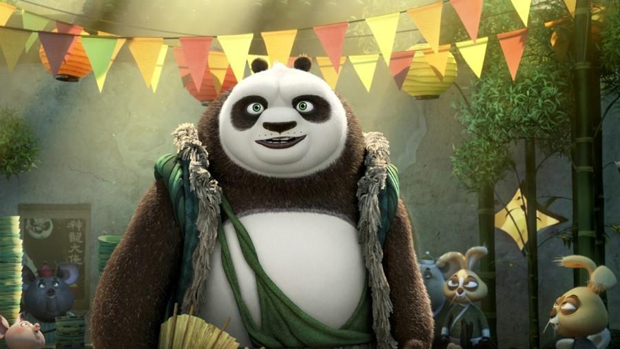 """Cena da animação """"Kung Fu Panda 3"""" - Divulgação"""