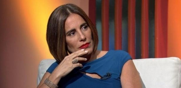 Gloria Pires durante a transmissão do Oscar na Globo - Reprodução/TV Globo