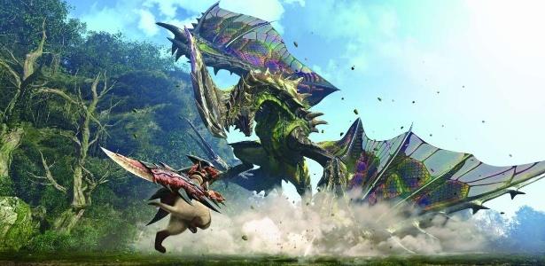 """Monstros gigantes e caçadores destemidos chegarão às telonas, mas ainda não há data para o filme de """"Monster Hunter"""" ser lançado - Divulgação/Capcom"""