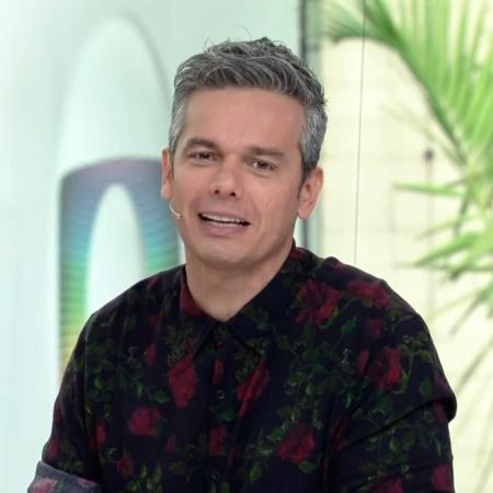 """Otaviano chegou a pedir desculpas pelo comentário machista durante o programa: """"Eu não sou esse ser que eu abomino"""" - Reprodução/Globo"""