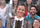 """Bruna Marquezine recebe cantada de garoto no """"Altas Horas"""" - Reprodução/TV Globo"""