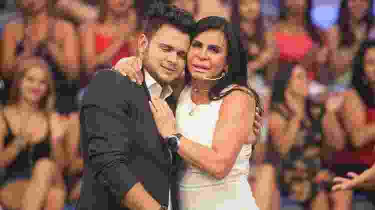 Gretchen reencontrou o filho - Edu Moraes/Record TV - Edu Moraes/Record TV