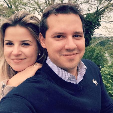 Dony De Nuccio e a namorada, Larissa Laibida - Reprodução/Instagram/donydenuccio