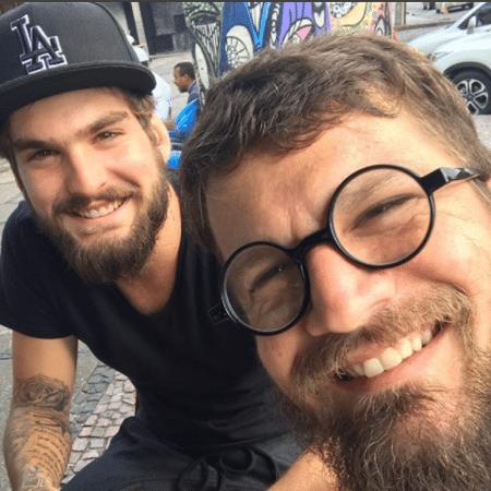 João Lucas e o pai, Saulo Fernandes - Reprodução/Instagram/saulooficial
