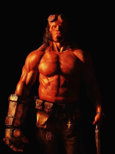 David Harbour como Hellboy - Reprodução