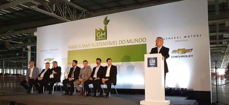 Fábrica de Joinville é uma das mais avançadas da GM no mundo, bem como a mais limpa - Murilo Góes/UOL