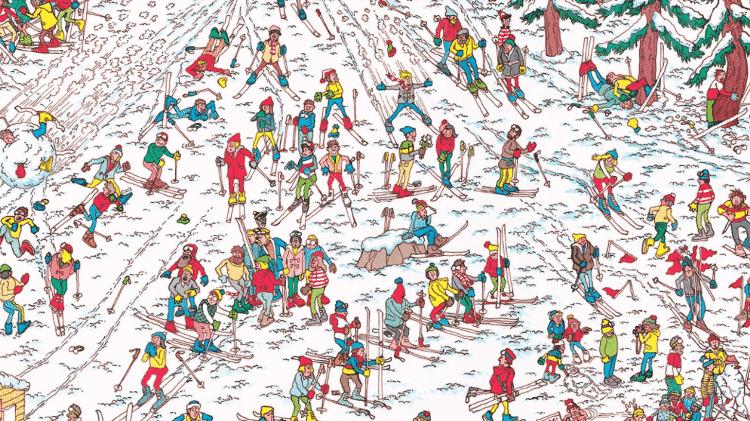 """Cena do jogo """"Onde Está Wally"""" - Reprodução - Reprodução"""